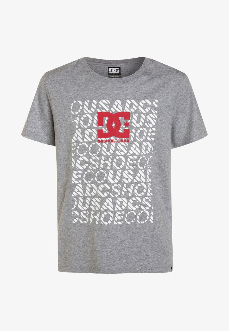 DC Shoes - DEVIATION BOY - T-shirt con stampa - grey heather