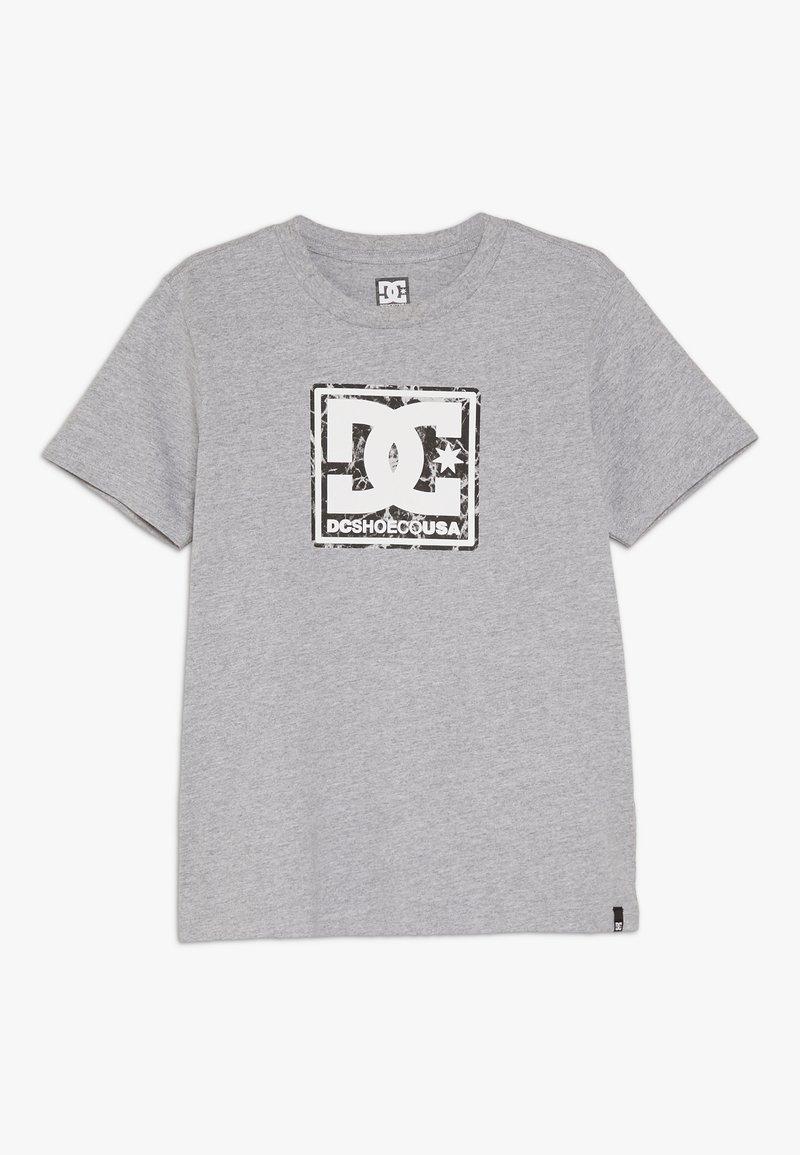 DC Shoes - BUTANE BOX BOY - T-shirt print - grey heather
