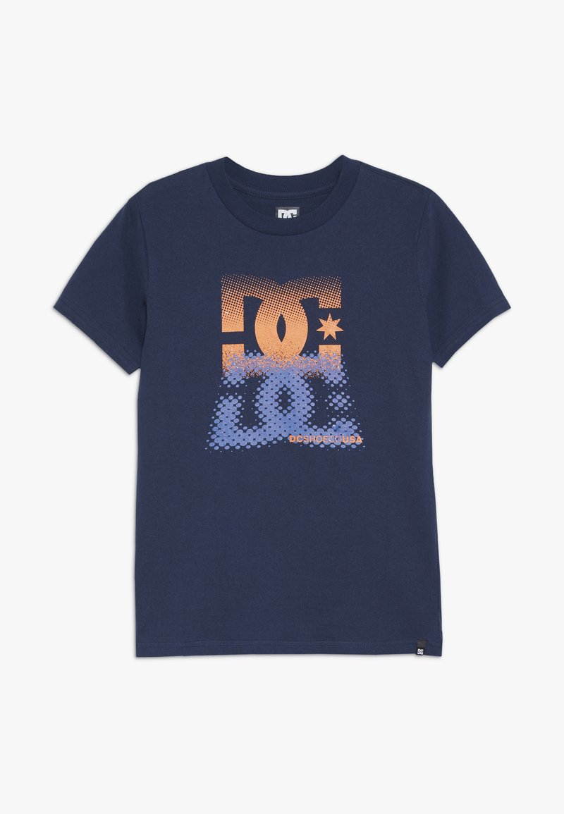 DC Shoes - LOGO BOY - Print T-shirt - black iris