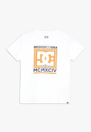 PANTHEON BOY - T-shirt imprimé - snow white