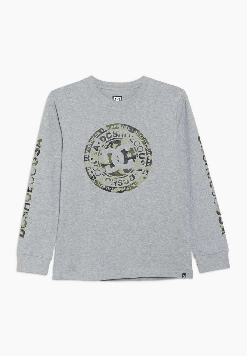 DC Shoes - CIRCLE STAR BOY - Long sleeved top - grey heather