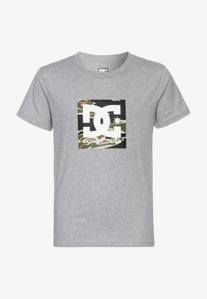 SQUARE STAR  - Camiseta estampada - grey heather