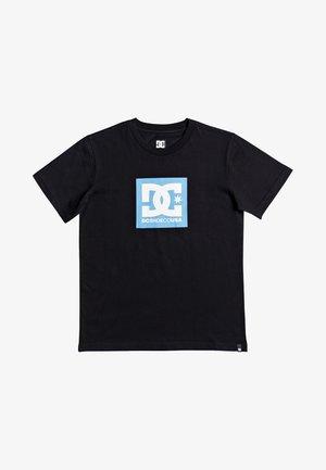 SQUARE STAR  - Print T-shirt - black