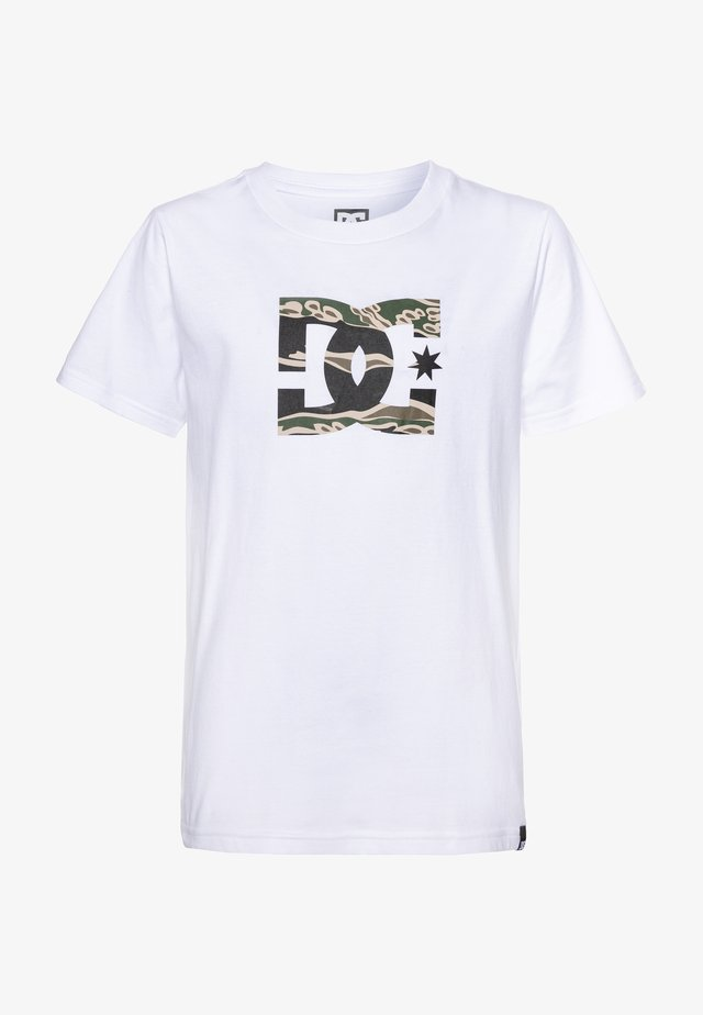 STAR BOY - T-shirts print - snow white