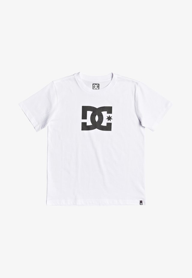 STAR BOY - Print T-shirt - snow white/black
