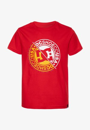 BRIGHT ROLLER BOY - T-shirts med print - racing red