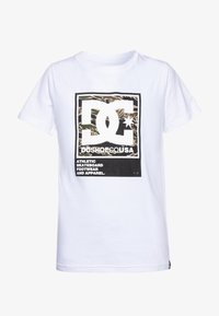 DC Shoes - Print T-shirt - white - 0