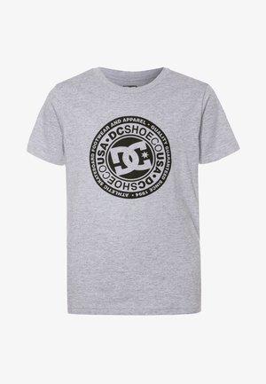 CIRCLE STAR BOY - Print T-shirt - grey/black