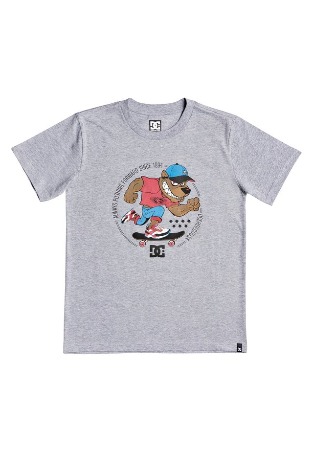 PITBOWL BOY - T-shirt print - grey heather