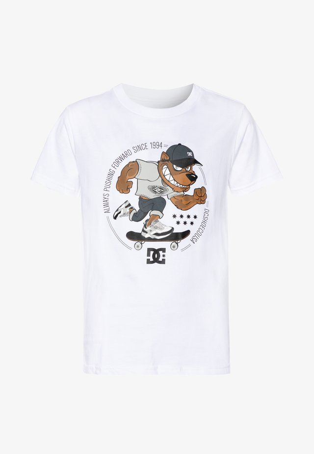 PITBOWL BOY - T-shirt print - white