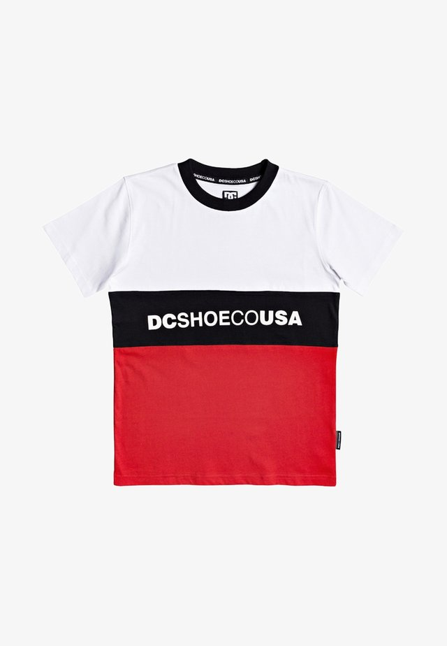 DC SHOES™ GLENFERRIE - T-SHIRT FÜR JUNGEN 8-16 EDBKT03129 - Print T-shirt - white