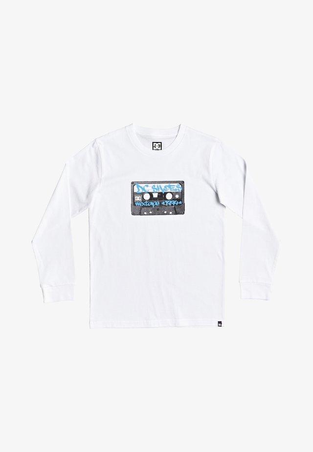 DC SHOES™ MIXTAPE 94 - T-SHIRT FÜR JUNGEN 8-16 EDBZT03396 - Long sleeved top - white