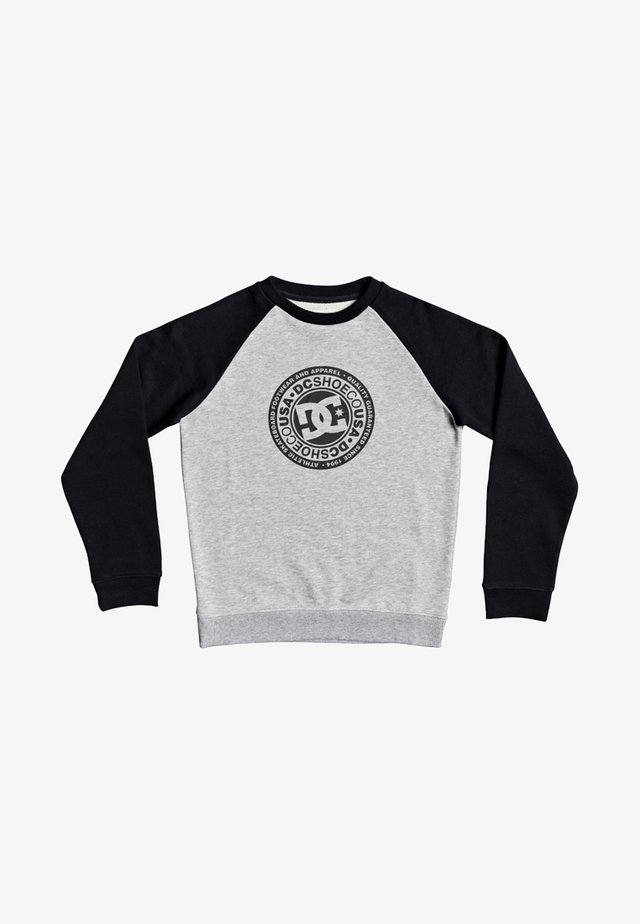 CIRCLE STAR  - Sweatshirt - grey heather/black