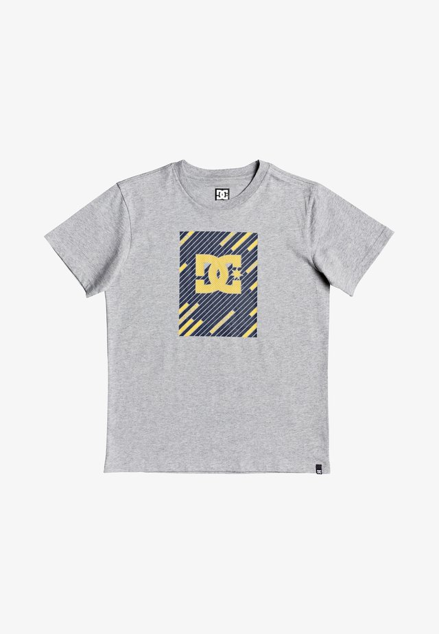 UP ALL LINES - T-shirt print - grey heather