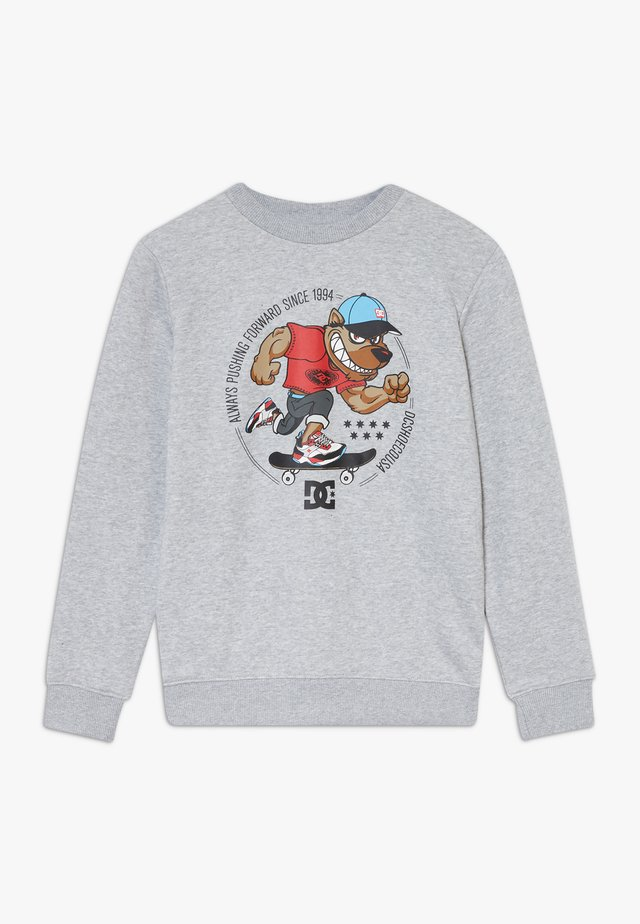 PITBOWL CREW BOY - Sweater - grey heather