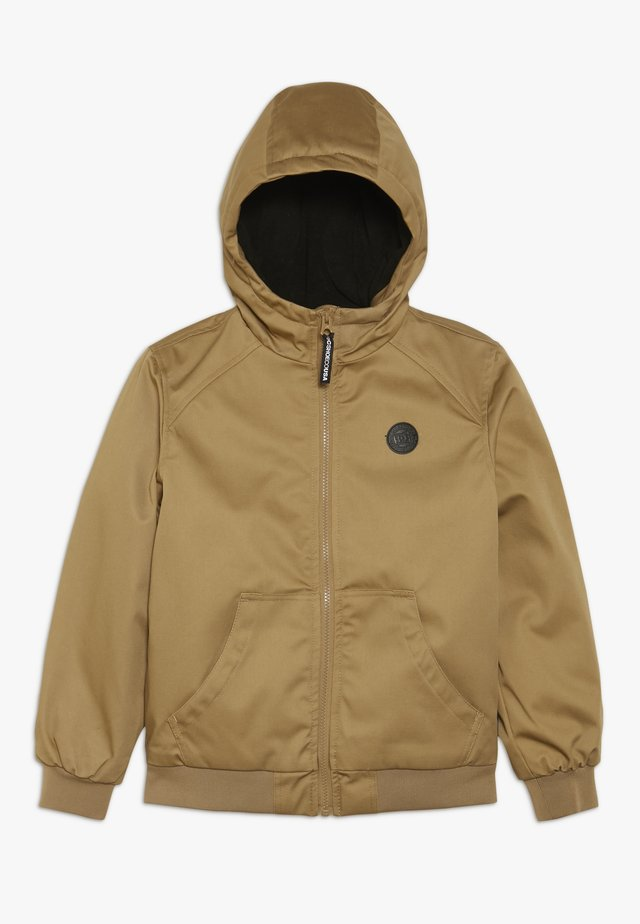ELLIS PADDED BOY - Winterjacke - tan