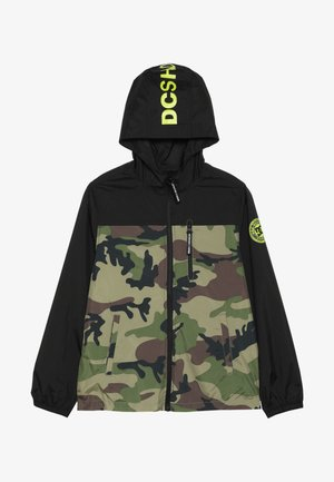 DAGUP PRINT BOY - Summer jacket - black