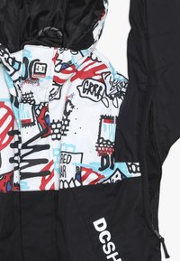 DC Shoes - DEFY YOUTH - Zimní bunda - white/mini play print - 2
