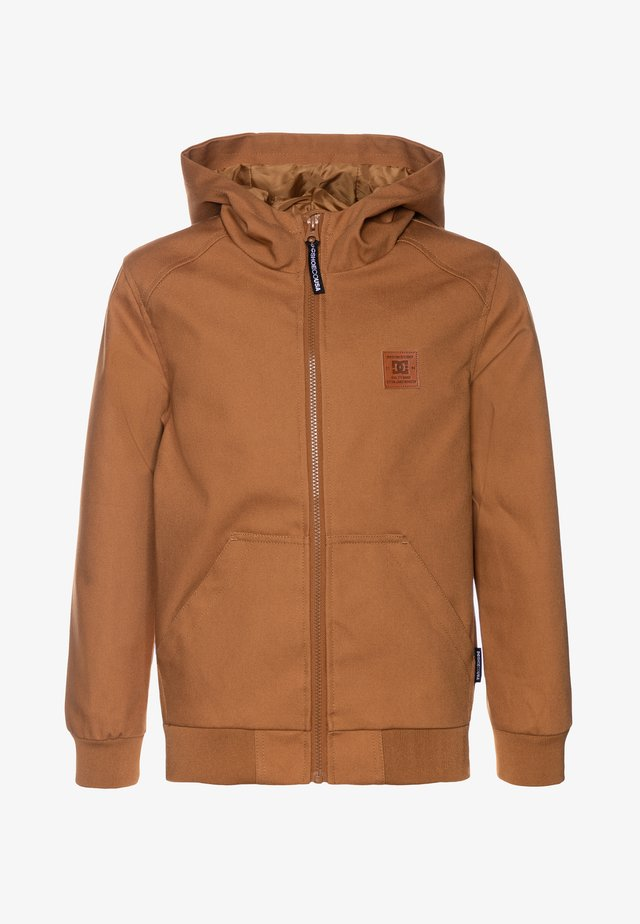 ELLIS LIGHT BOY - Waterproof jacket - wheat