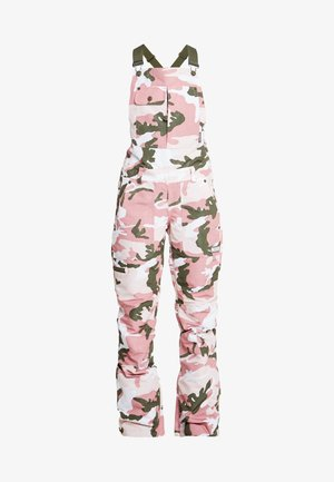 COLLECTIVE BIB - Snow pants - dust/rose/vintage