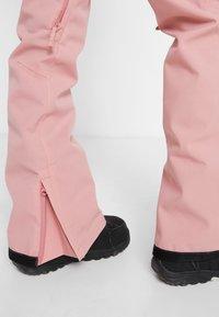 DC Shoes - VIVA - Pantalón de nieve - dusty rose - 5