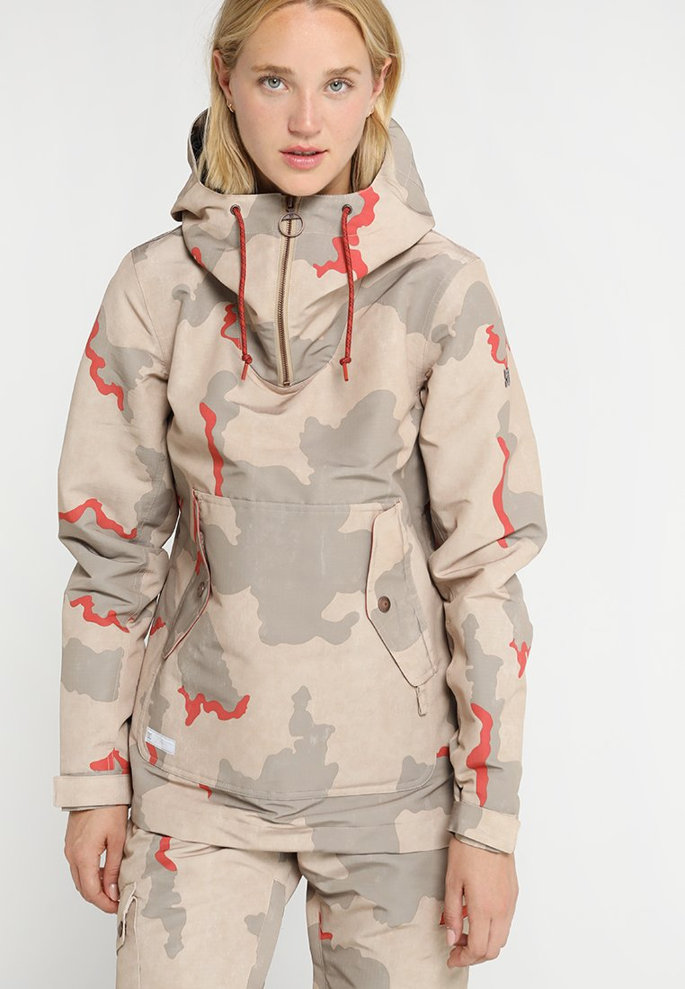 DC Shoes - SKYLINE  - Snowboard jacket - hot sauce