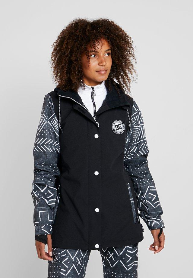 WOMEN - Kurtka snowboardowa - black