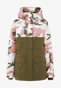 DC Shoes - CRUISER  - Snowboard jacket - dusty rose vintage - 6