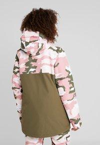 DC Shoes - CRUISER  - Snowboard jacket - dusty rose vintage - 2