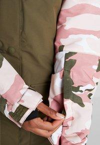 DC Shoes - CRUISER  - Snowboard jacket - dusty rose vintage - 4