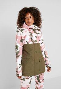 DC Shoes - CRUISER  - Snowboard jacket - dusty rose vintage - 0