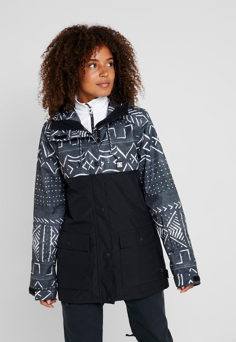 DC Shoes - CRUISER  - Snowboard jacket - black mud