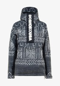 DC Shoes - ENVY ANORAK - Chaqueta de snowboard - black mud - 6