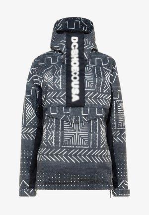 ENVY ANORAK - Snowboard jacket - black mud