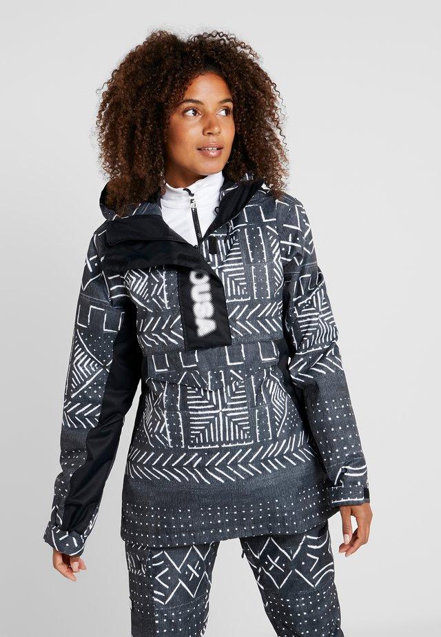 ENVY ANORAK - Snowboardová bunda - black mud