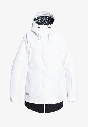 RIJI - Snowboardjas - white