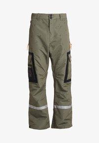 DC Shoes - REVIVAL - Pantalon de ski - olive night/desert night - 6