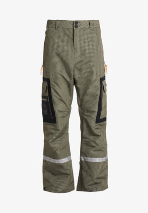 REVIVAL - Pantalon de ski - olive night/desert night