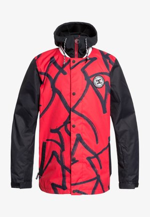 Snowboard jacket - racing red