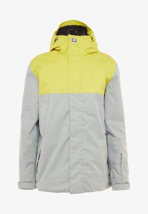 DEFY  - Kurtka snowboardowa - yellow