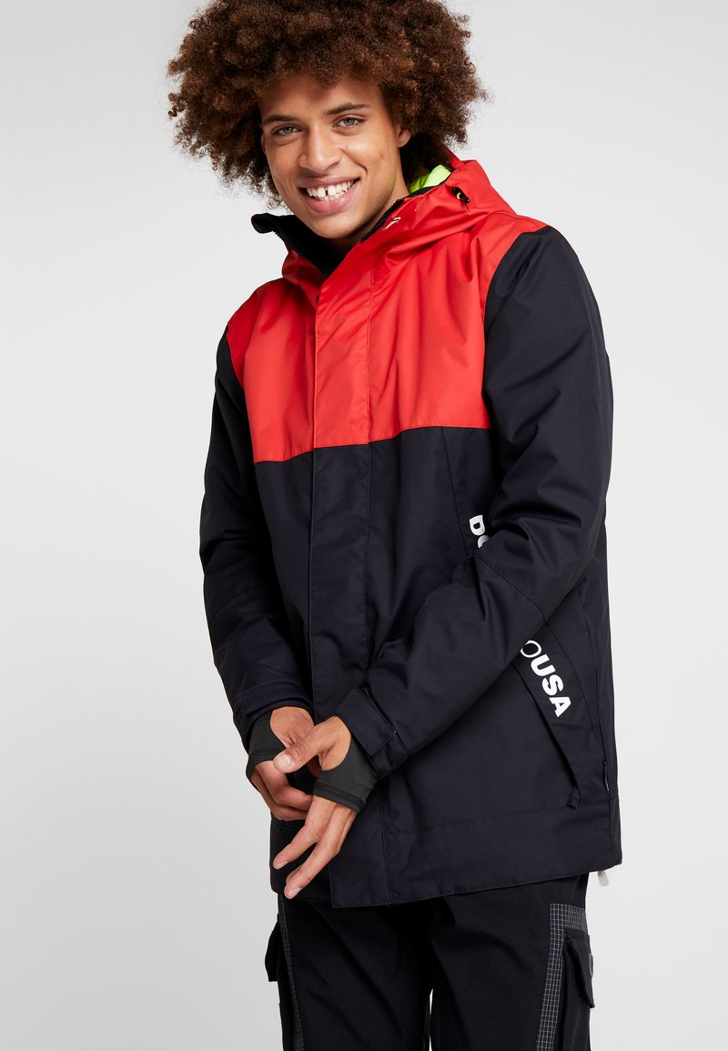 DC Shoes - DEFY  - Snowboard jacket - racing red