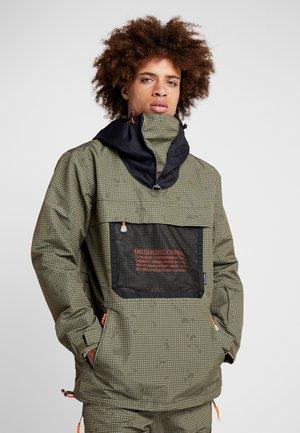 ASAP ANORAK - Snowboard jacket - olive night/desert night