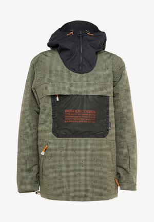 ASAP ANORAK - Snowboardjacke - olive night/desert night
