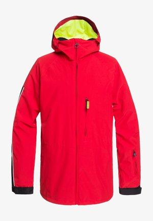 RETROSPECT - Snowboard jacket - racing red