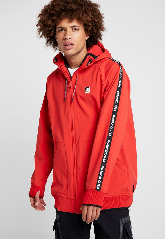 SPECTRUM - Kurtka snowboardowa - racing red