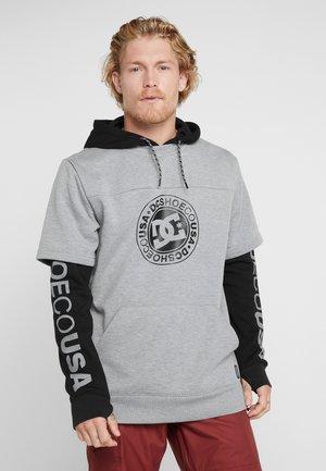 DRYDEN 2-IN-1 - Bluza z kapturem - black