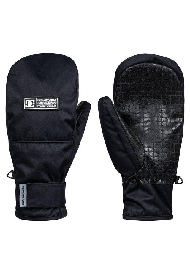 DC SHOES™ FRANCHISE - SNOWBOARD/SKI MITTENS FOR MEN EDYHN03046 - Mittens - black