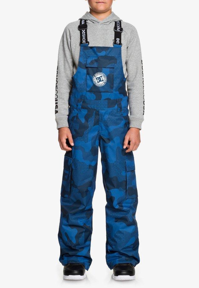 DC SHOES™ BANSHEE - SCHNEELATZHOSE FÜR JUNGEN 8-16 EDBTP03010 - Snow pants - monaco blue yth pill camo