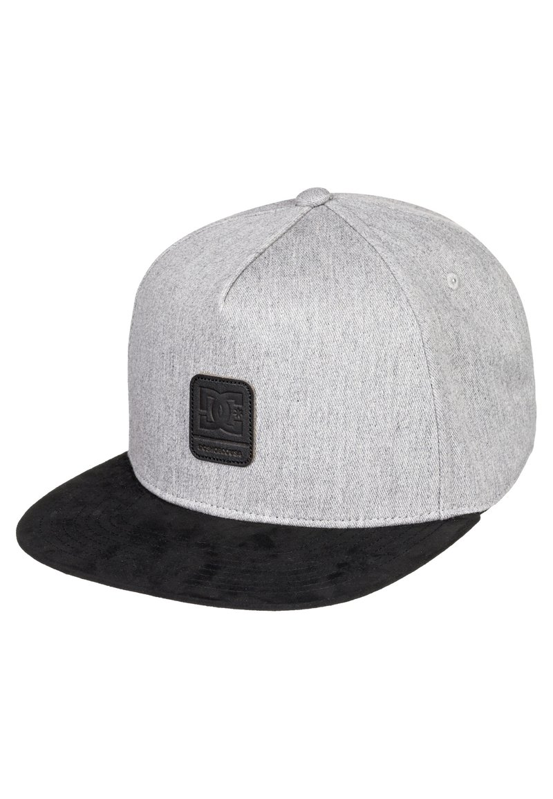 DC Shoes - BRACKERS - Cap - grey heather