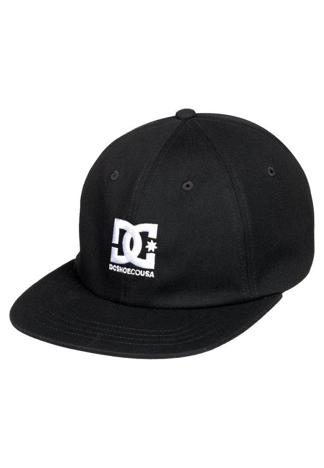 DC SHOES™ LOGO DECON - SNAPBACK-KAPPE FÜR MÄNNER ADYHA03905 - Pet - black